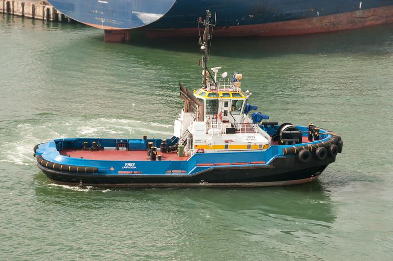 • Cartagena, Colombia<br /> • Tug Boat