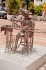 • Cartagena, Colombia<br /> • Various Metal Statues that we saw walking around the historic old town