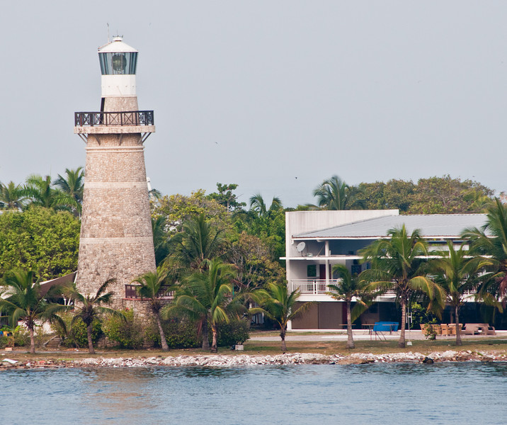 • Cartagena, Colombia<br /> • View of a Lighthouse as we are entering Cartagena Port