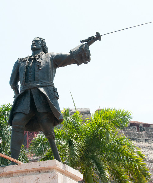 • Cartagena, Colombia<br /> • Monument to Don Blas de Leso, the Governor of Cartagena, defender of the fortress.