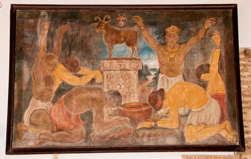 • Cartagena, Colombia<br /> • Art work at the Convento de la Popa
