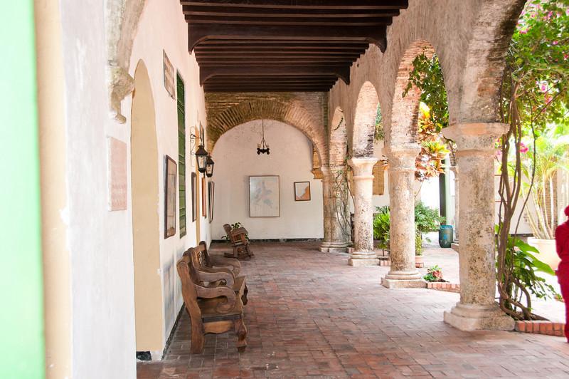 • Cartagena, Colombia<br /> • Courtyard of the Convento de la Popa