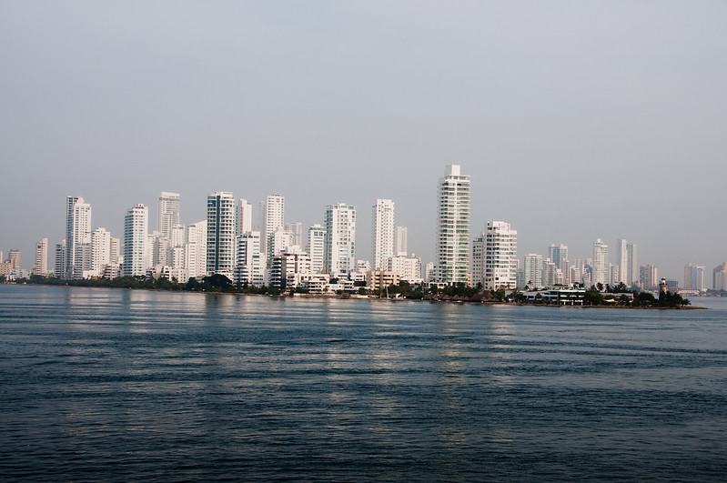 • Cartagena, Colombia<br /> • Skyline view of Cartagena from Coral Princess