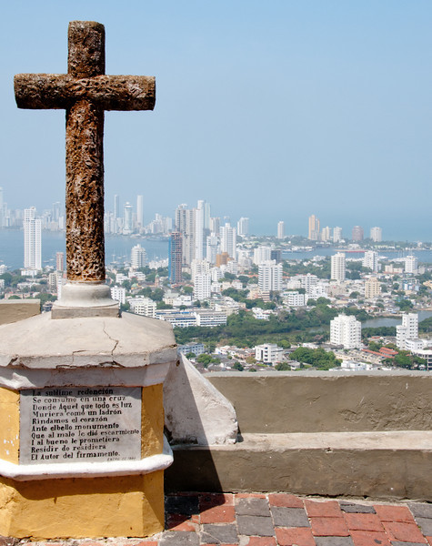 • Cartagena, Colombia<br /> • Skyline view from the Convento de la Popa Monastery
