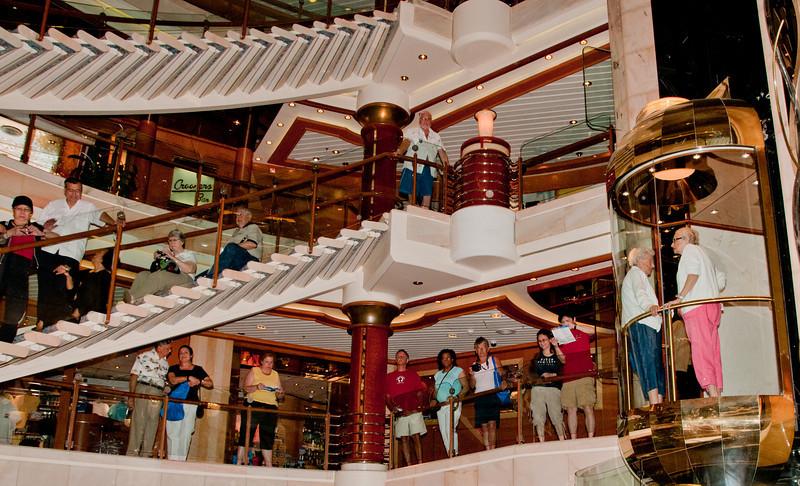 • Coral Princess<br /> • The ship's atrium