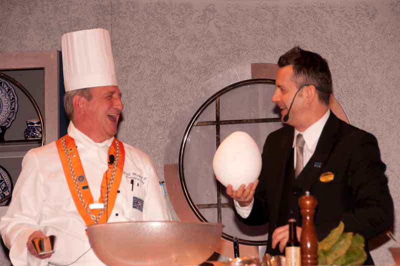 • Culinary Experience Show<br /> • What are you going to cook with this egg???