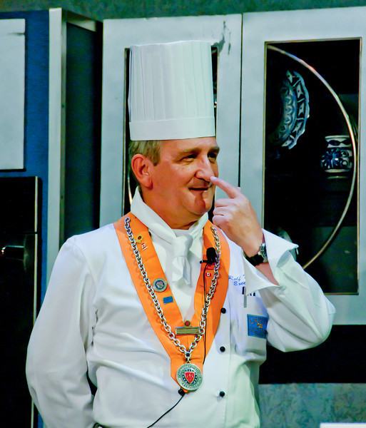 • Culinary Experience Show<br /> • Executive Chief Michael Borns. Yep, that's my nose!