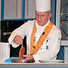 • Culinary Experience Show<br /> • Michael Borns is preparing some sort of fancy chicken dish