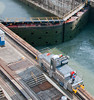• Panama Canal<br /> • One of the Mule Electric Locomotives going back to pick up another ship.