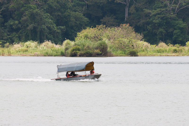 • Panama Canal<br /> • One of the local's boat on the Gatun Lake
