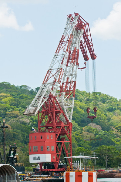 • Panama Canal<br /> • One of the largest cranes on the Panama Canal that is used to help ships that break down in the locks.