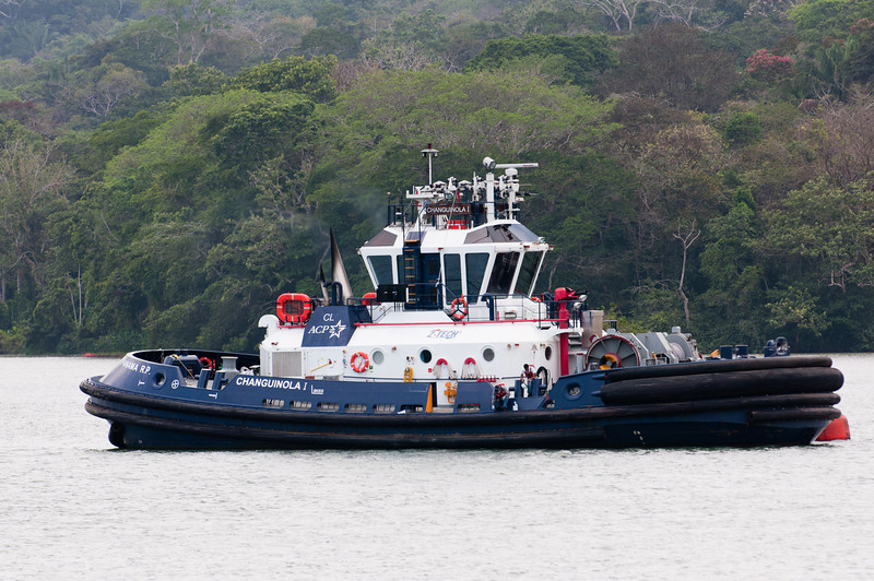 • Panama Canal<br /> • Tug boat on the Gatun Lake