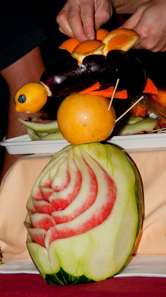 • Coral Princess<br /> • Vegetable and Fruit Carving