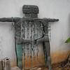 Artist Pal Kepenyes sculpture