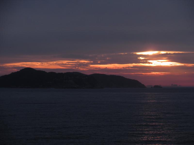 Acapulco sunrise