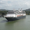 Holland America ship with Mona on board