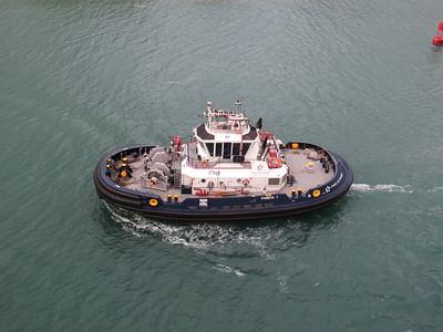 Parita 1, Panama Canal February 2014