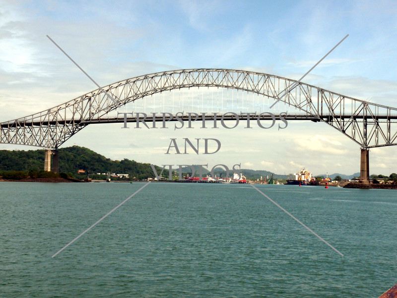 Pan American Bridge crossing the Panama Canal.