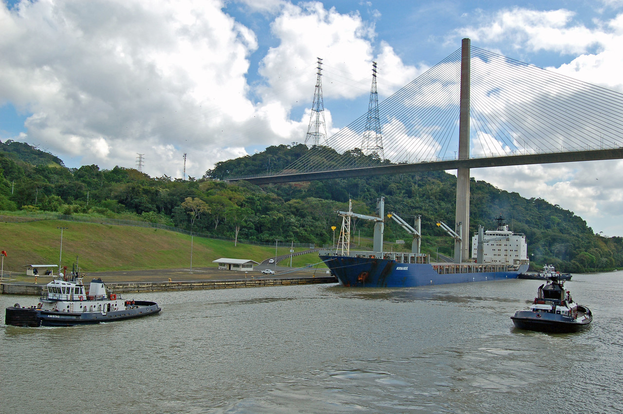 the Normandie at Gamboa