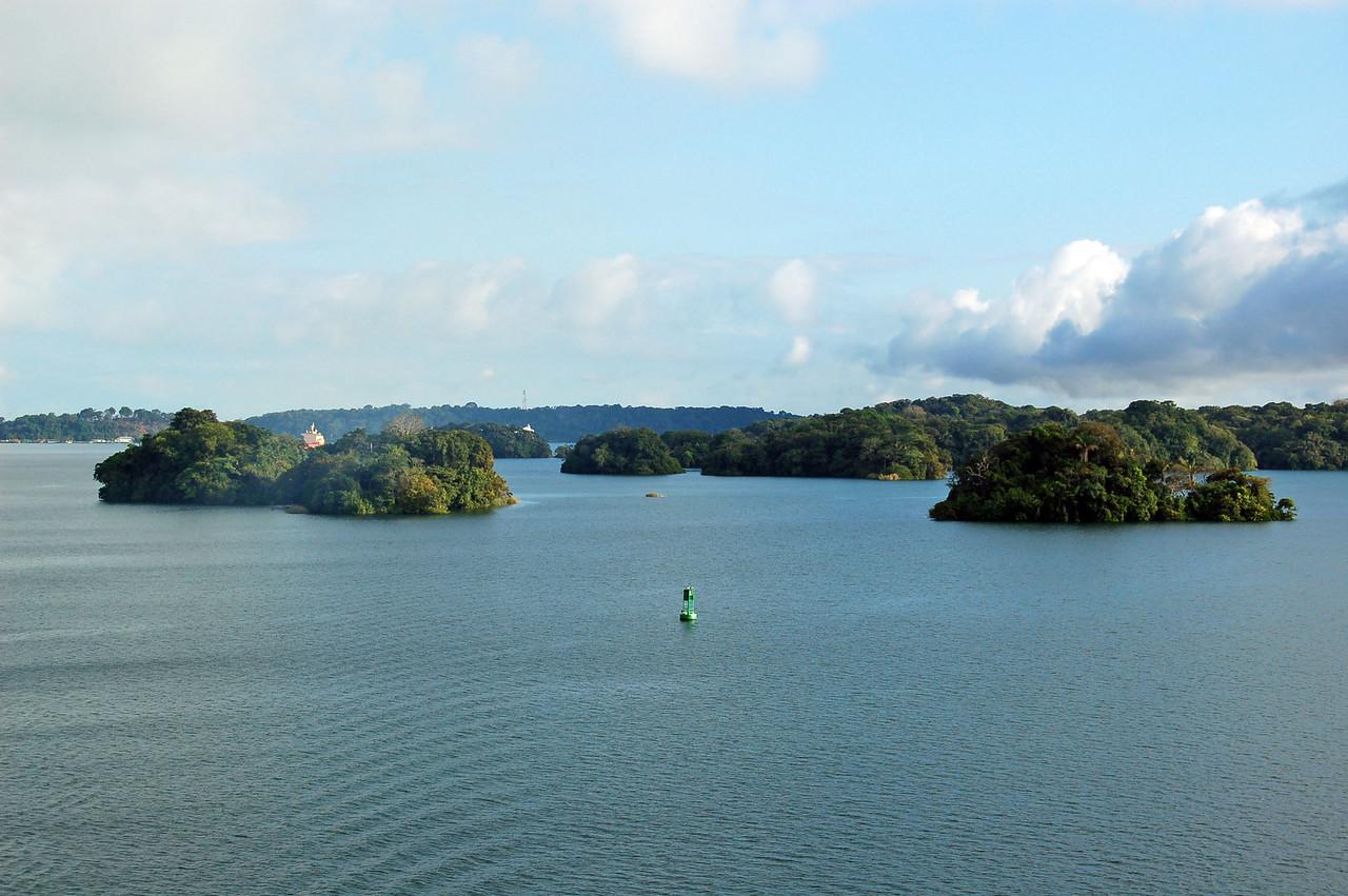 Islands in Gatun Lake