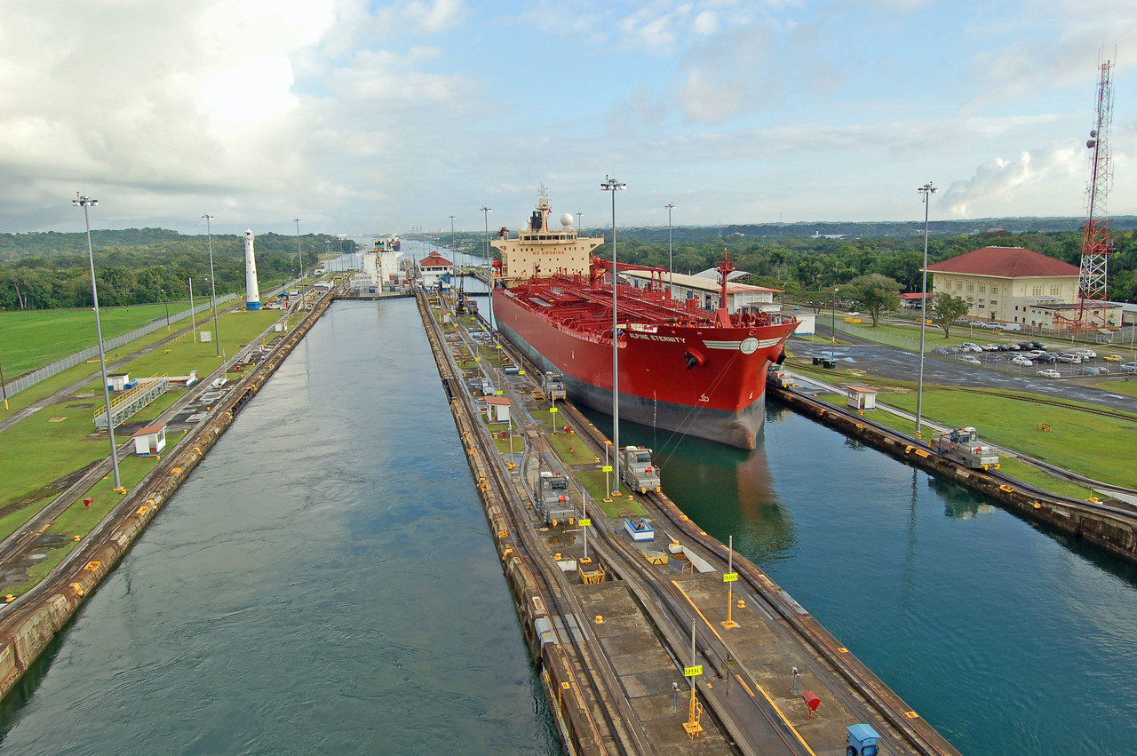Nearly A Million Ships Have Used Canal since 1914