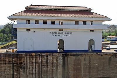 Miraflores Locks - Pacific Entrance to Panama Canal