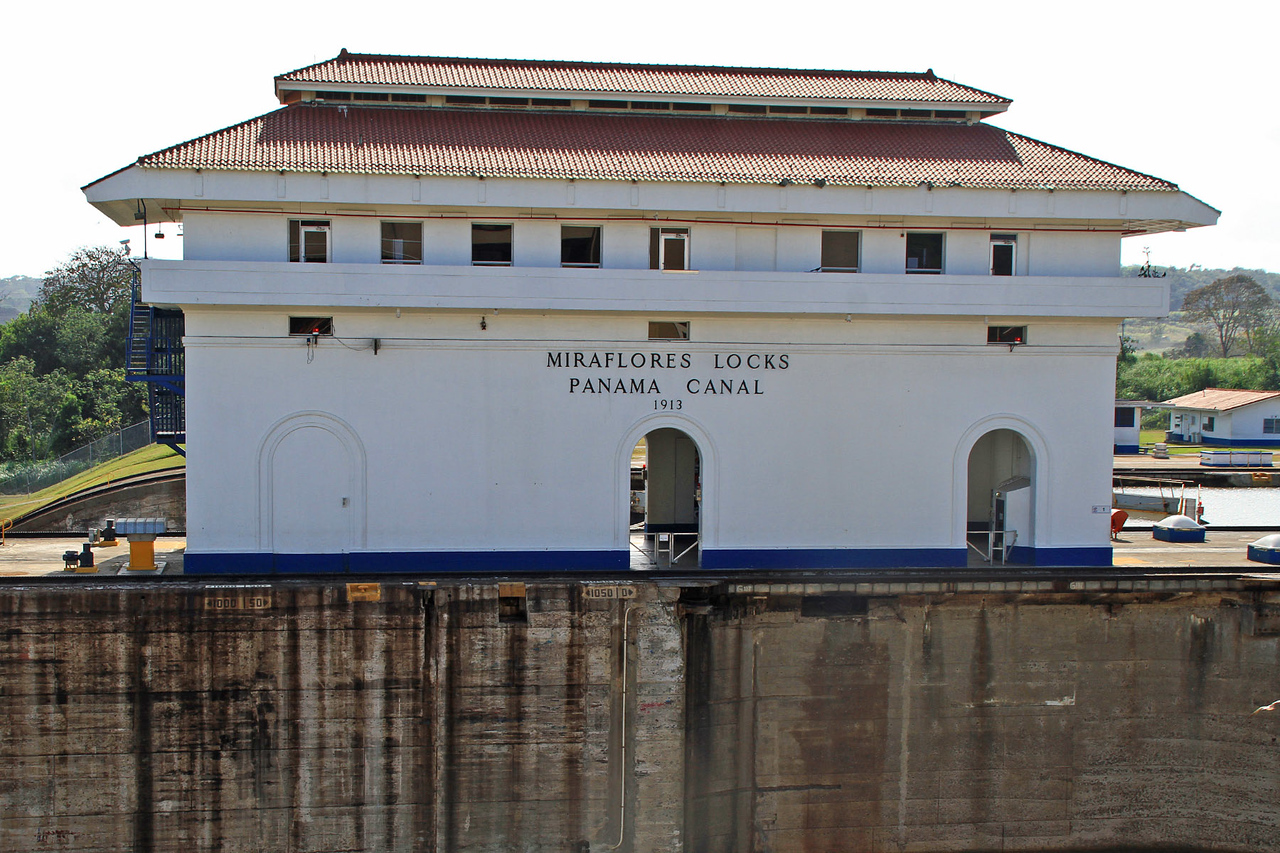 Miraflores Locks - Pacific Entrance to Panama Canal