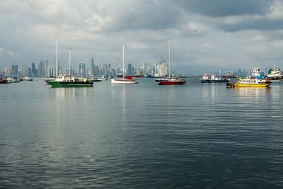 Panama city, Panamá skyline