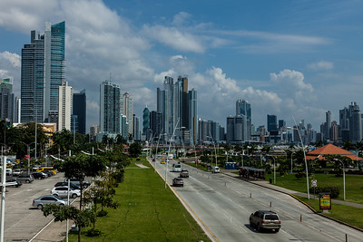 Panama city, Panamá skyline