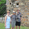 Kathie, Doreen and Dan in Old Panama City.