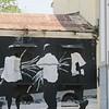 Wall art in Casco Viejo.