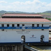 Stopping by the Miraflores Locks on the Panama Canal.