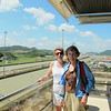 Kathie and Joan at Miraflores.