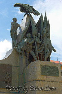 Simon Bolivar monument