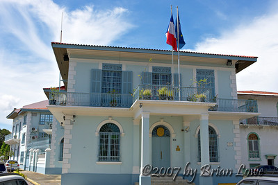 French Embassy. Plaza de Francia