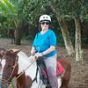 Caletas Reserve: Kay on horse