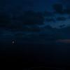 Sea Lion: Windjammer Star Flyer lit against pre-sunrise sky