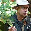 Casa Orquideas: Max explaining importance of cocoa tree