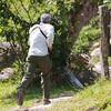 Lake Arenal: Max running to get forgotten binoculars