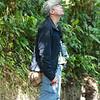 Monteverde: Max, bird whisperer, trying for a Resplendent Quetzal