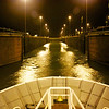 Panama Canal: Gates opening to third Gatun Lock