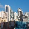 Panama City: Curved skyscraper 2