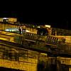 Panama Canal: Mule ascending