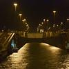 Panama Canal: Entering first Gatun Lock
