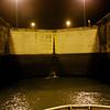 Panama Canal: In first Gatun Lock