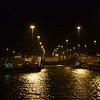 Panama Canal: Approaching first Gatun Lock