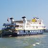 Panama Canal: Sea Lion at anchor