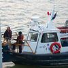 Panama Canal: Pilot boat getting pilot