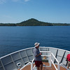 Isla Coiba: Approaching anchorage