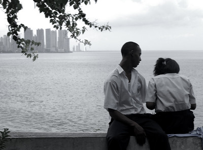Local Panamanian couple